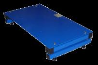 Logistikwaage BIZERBA BFT-F inkl. Auswerteeinheit iS20