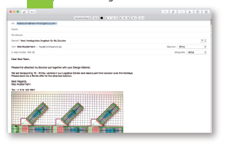 Email Planung Bild